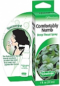 Comfortably Numb Deep Throat Spray Spearmint 1 Ounce (120064.7)